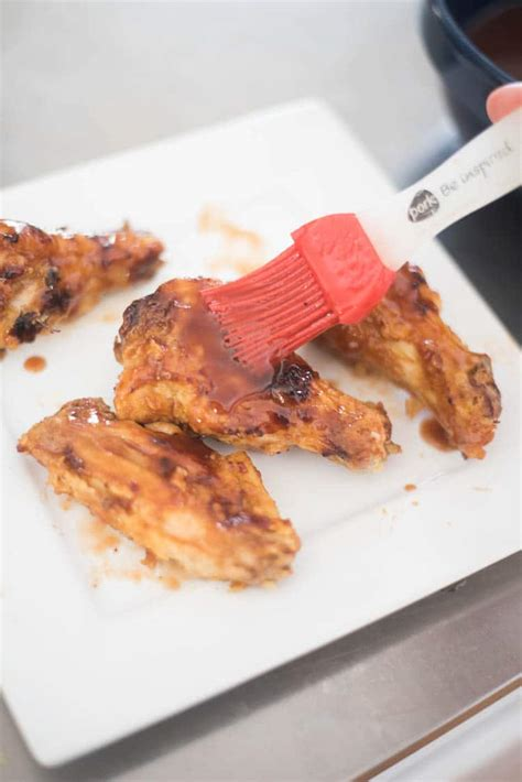 fryer chicken air wings bbq recipe