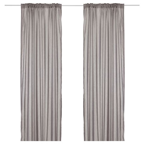 ikea vivan curtains grey vivan curtains 1 pair grey 145x250 cm ikea
