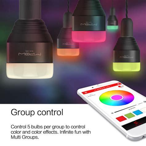 app controlled led lights aliexpress com buy mipow bluetooth smart led light bulbs