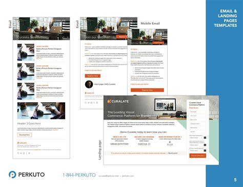 marketo email templates marketo templates portfolio landing page templates email templates perkuto