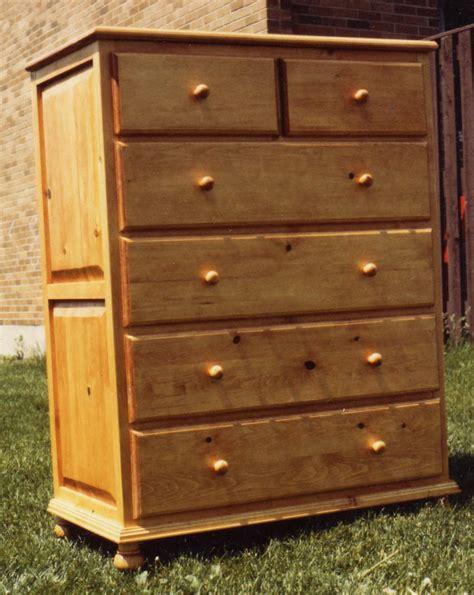 drawer tall dresser diy blueprint plans