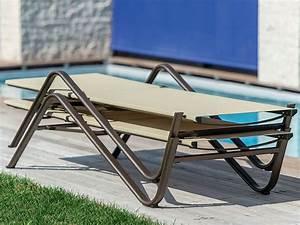 Sonnenliege Für übergewichtige : holly 195i1 sonnenliege aus metall f r garten stapelbar sediarreda ~ Orissabook.com Haus und Dekorationen