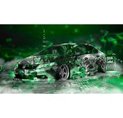 Honda Civic JDM Tuning Super Anime Girl Energy Night City