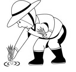 free coloring page farmer gallery