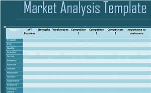 get free marketing competitive analysis template free With competitor research template