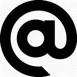 Address Icon Email Mailing Arroba Icons Symbol