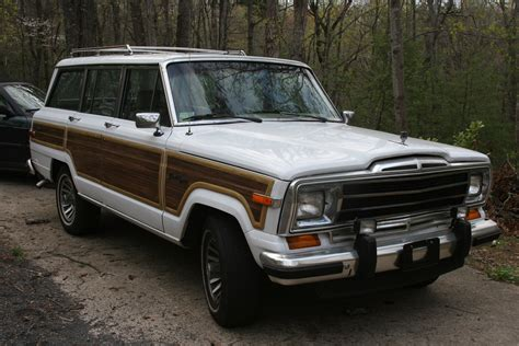 jeep wagoneer 1990 jeeper23 1990 jeep grand wagoneer specs photos