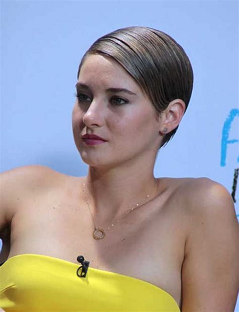 15 of Shailene Woodley?s Most Gorgeous Short Hairstyles
