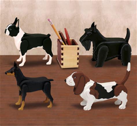 layered dogs desk dog pattern set  wood plan