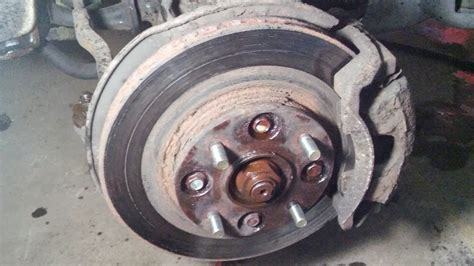 honda accord captive rotors  pads  side