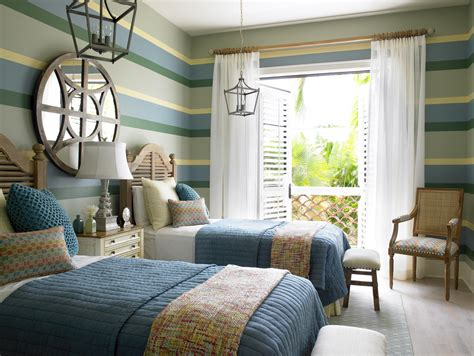 Coastal Cottage Kids Twin Bedroom The Tailored Pillow Of