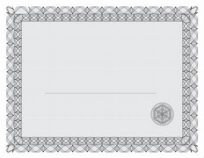 Certificate Border Template Transparent Templates Printable Blank