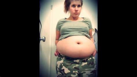 girl  fat   belly  huge youtube