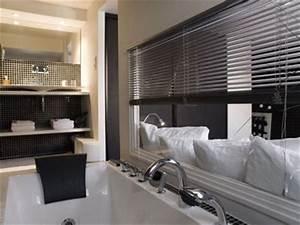 Petite Salle De Bain Ouverte Sur Chambre : les secrets d 39 une salle de bains ouverte sur la chambre c t maison ~ Melissatoandfro.com Idées de Décoration