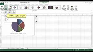 How To Use Design Tab In Ms Excel 2013 Youtube