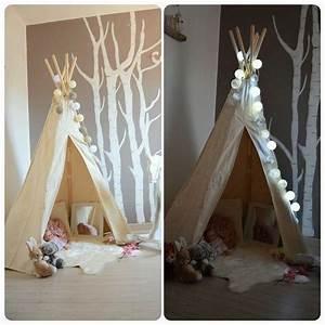 Guirlande Lumineuse Chambre Fille : decoration lumineuse chambre fille ~ Nature-et-papiers.com Idées de Décoration