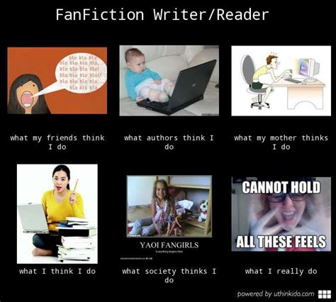 Fanfiction Memes - what i really do as a fanfiction writer reader by loonyformoony on deviantart