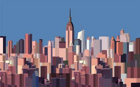 bit  york skyline wallpaper  curtisbell  deviantart
