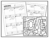 Coloring Parallelogram Quadrilaterals Activity Rhombi Squares Rectangles Parallelograms Pages Template sketch template