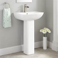bathroom pedestal sink Kerr Porcelain Pedestal Sink - Bathroom