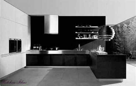 Modern Kitchen Cabinets Design Black And White