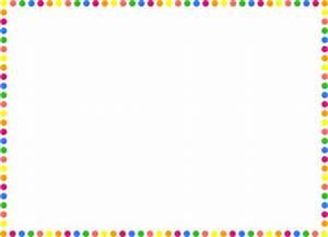 Polka Dot Borders Clip Art Free