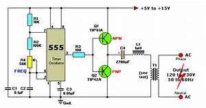 Gudang Skema Elektronik  Converter Dc To Ac