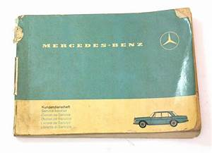1966 Mercedes Operating Instructions Owners Manual Book