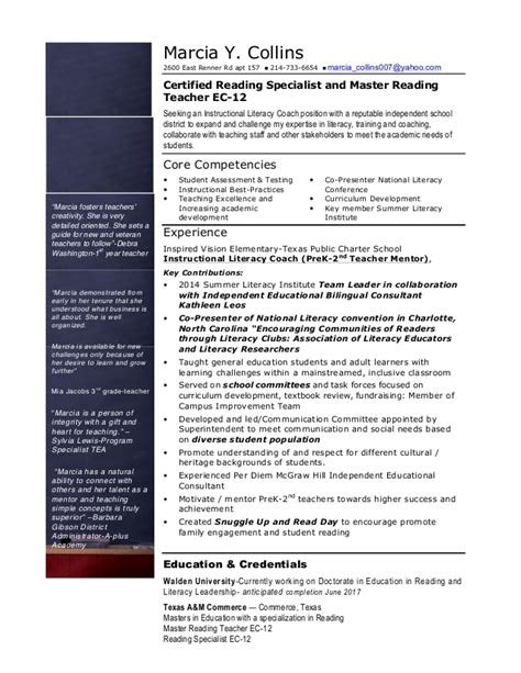 resume mcollins   instructional coach