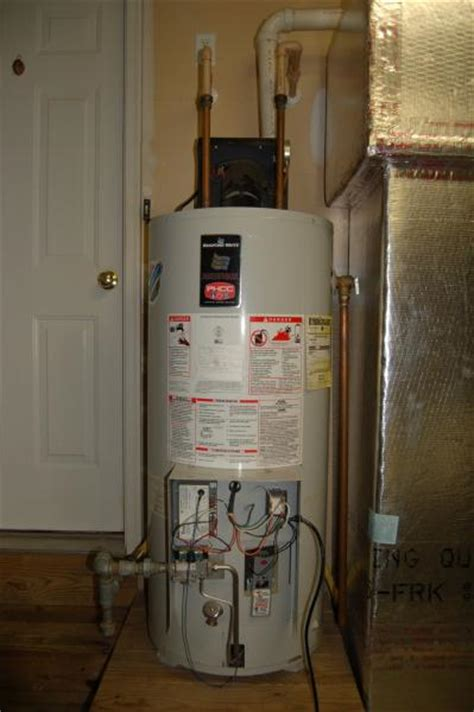 lp gas hot water heater power vent issue doityourself