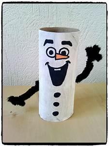Fabriquer Un Personnage En Carton : olaf en rouleau de papier de toilette mes humeurs cr atives ~ Zukunftsfamilie.com Idées de Décoration