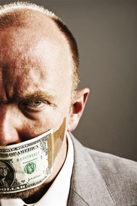 thinking  money leads  corruption study