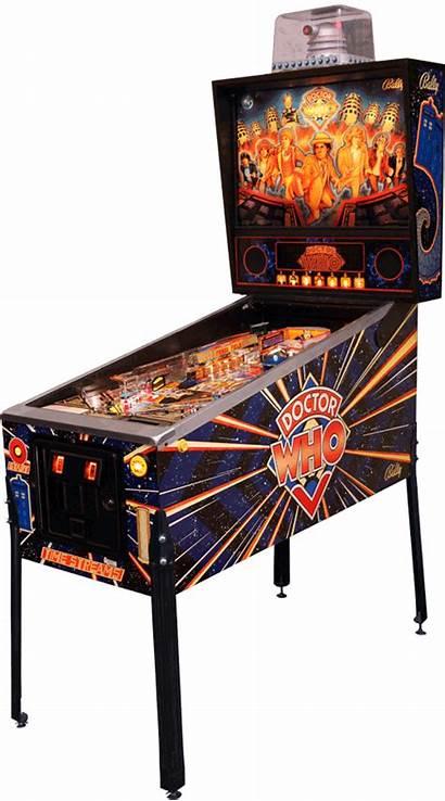 Pinball Doctor Machine Tardis Machines Streams Games
