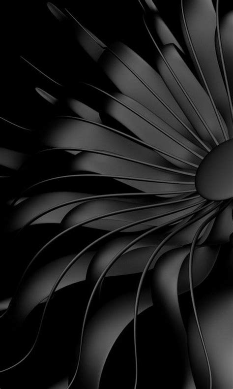 Black And White Animated Wallpapers - 480x800 171 black flower 187 cell phone wallpaper