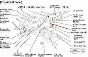 Where Is The Television Camera Ecu On A Gx470 W No Rear