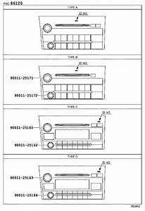 2010 Toyota Tundra Radio Control Unit  Radio Control Unit