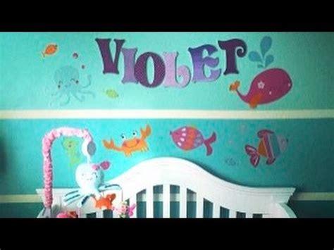 nursery    sea themed baby girl nursery youtube