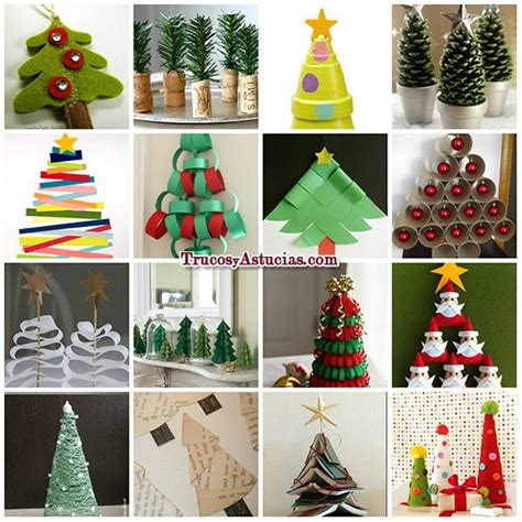 manualidades de 225 rbol de navidad en http trucosyastucias