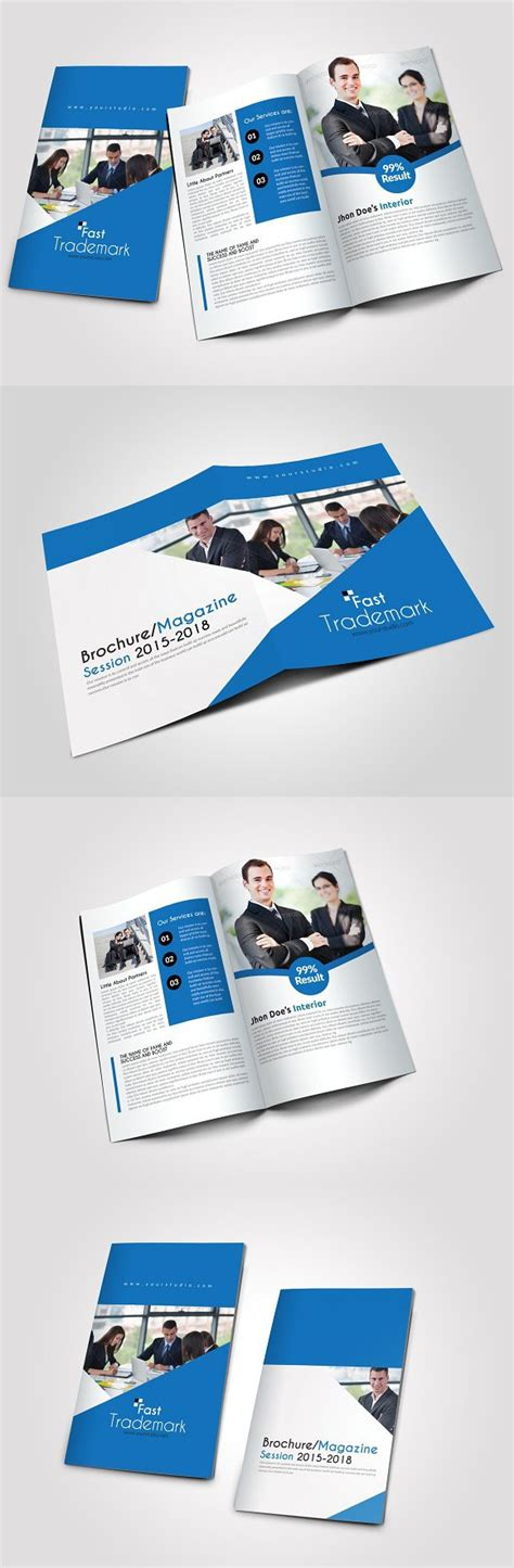 pages business bi fold brochure business cards