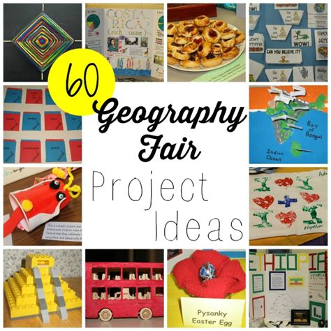 how to project ideas 60 geography fair project ideas walking by the way