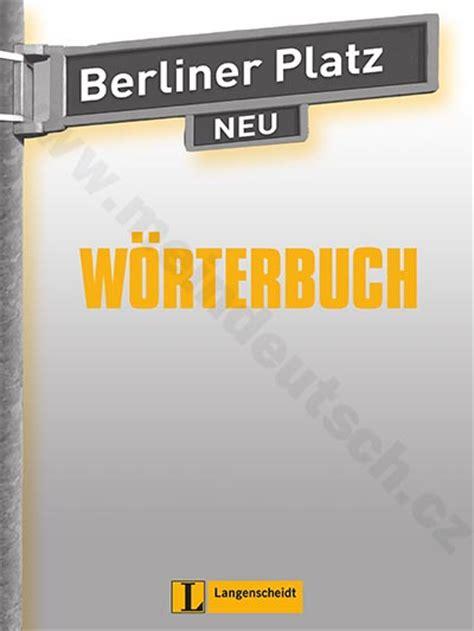 němčina berliner platz 2 neu slovn 237 ček k 2 d 237 lu