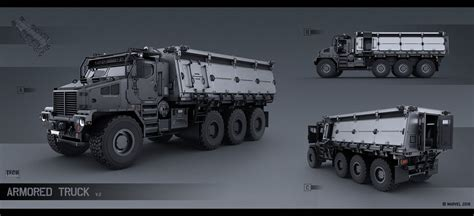 artstation spider man 2018 concept art alexey pyatov military trucks in 2019 armored