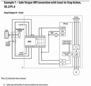 rockwell automation With safety relay wiring