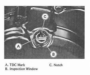 Timing Diagram On A 1989 Kawasaki Mojave 250