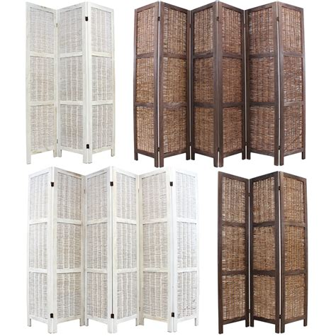 cardboard privacy screens for desks wooden framed wicker room divider privacy screen partition
