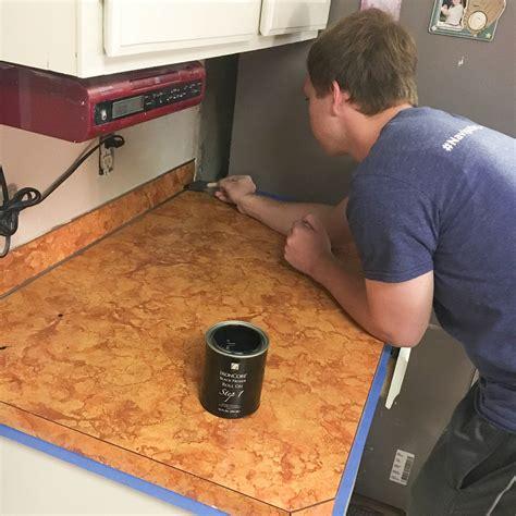 kitchen countertop makeover diy countertop makeover 1009