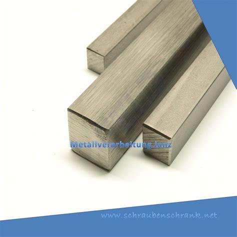 4 kant rohr edelstahl edelstahl vierkant 4x4 mm 1 4301 h11 gezogen 4 kant stange