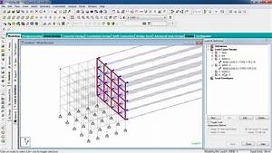 Design Load In Rcc Staad Pro Tutorials Wind Load Analysis On Rcc Building