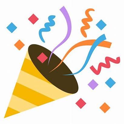 Party Transparent Clipart Celebration Emoji Webstockreview