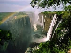 Victoria Zimbabwe Waterfall